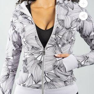 BuffBunny Core Zip Jacket Citrus Lilac Hoodie